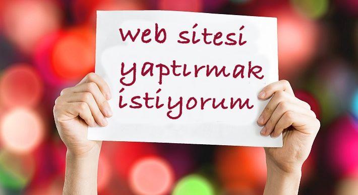 profesyonel web sitesi yaptırmak istiyorum