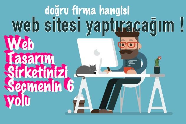 web tasarım şirketi seçme