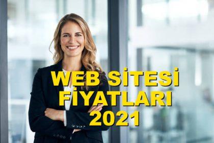 Web sitesi fiyatları 2021